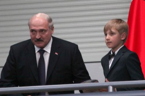 Александр ЛУКАШЕНКО с сыном Колей