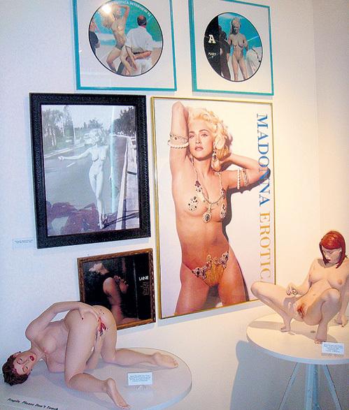 Экспозиция во всех музеях эротики примерно одинакова
