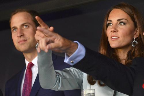 Принц Уильям и Кэтрин, герцогиня Кембриджская.