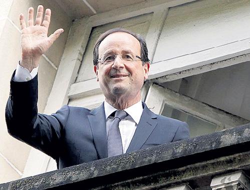 Франсуа ОЛЛАНД...