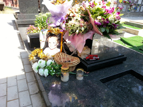 Погибшей дочери музыканта Лизе было всего пять лет.