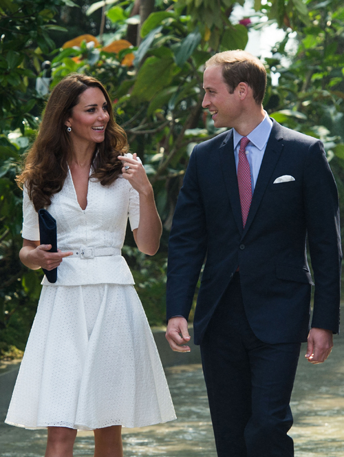 Пара заявила о том, что ждёт наследника, через 11 месяцев после свадьбы. (фото Splash/All Over Press)
