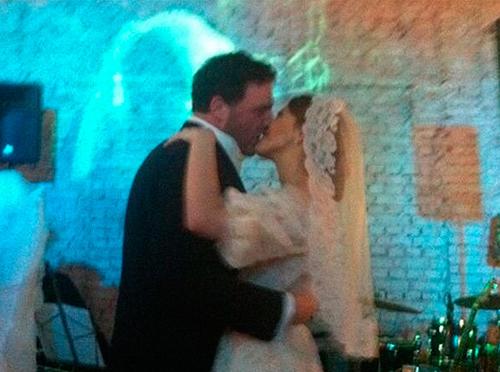 Ксения СОБЧАК и Максим ВИТОРГАН - счастливые молодожёны!