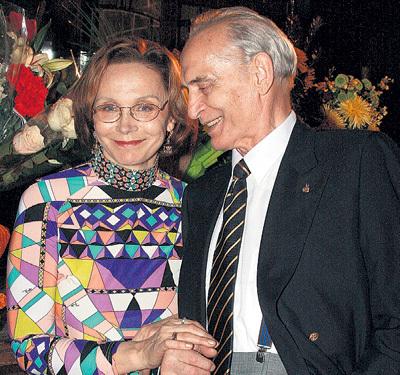 В минувшем году супруги отметили рубиновую свадьбу - 40 лет вместе
