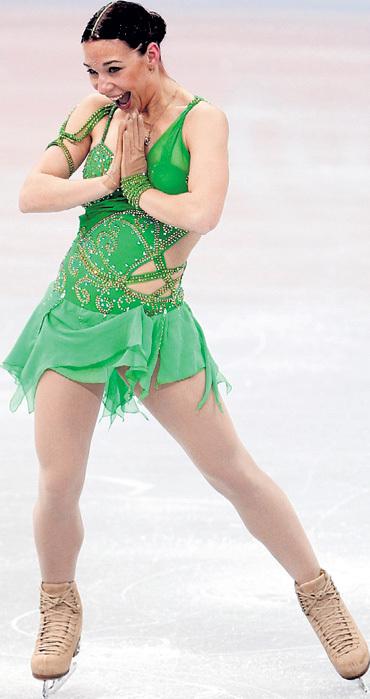Алёна ЛЕОНОВА пробилась в сборную России в последний момент. Фото: РИА «Новости»