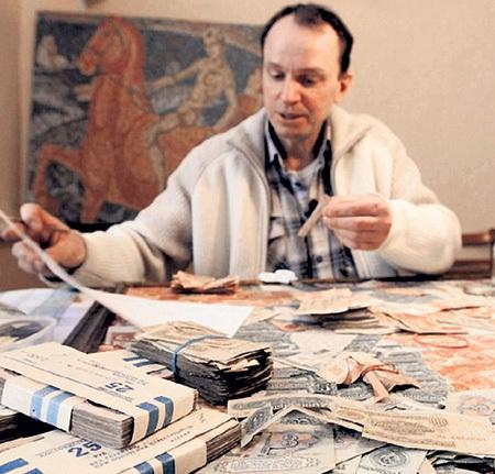 Игорь АРИНИЧ настойчиво ищет вышедшие из обращения советские дензнаки