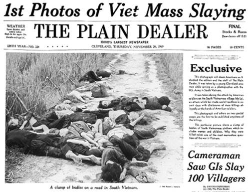 Несмотря на обличения американских газет, Вашингтон так и не признал факт массовых убийств в Сонгми