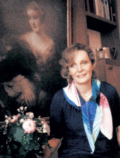 Единственную фотографию Эдды ГЕРИНГ удалось сделать её двоюродной сестре Элизабет