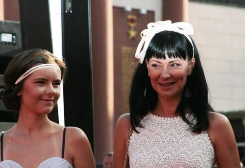 Нонна ГРИШАЕВА с дочерью Настей