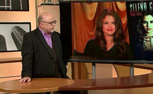 Во время видеоинтервью Селена ГОМЕС чувствовала себя не в своей тарелке