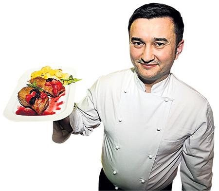 Шеф-повар «Луны» Руслан КОНДРАЛЕЕВ угостит на славу