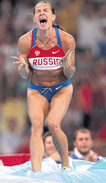 Лена ИСИНБАЕВА - снова № 1! Фото Владимира ВЕЛЕНГУРИНА/«Советский спорт»