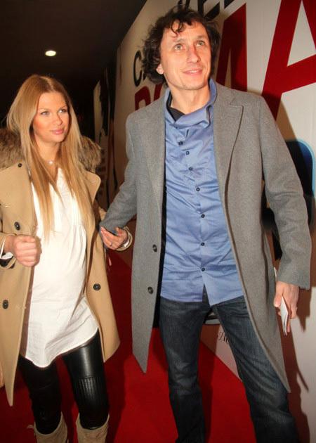 Вадим ГАЛЫГИН с женой. Фото Ларисы КУДРЯВЦЕВОЙ