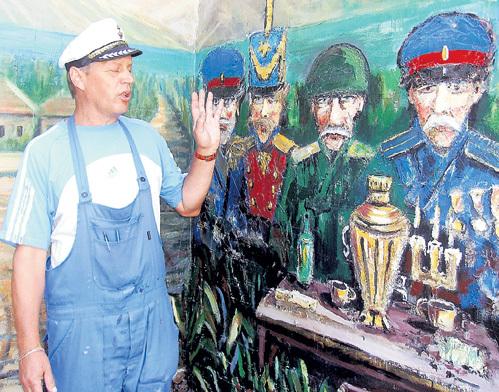 Сюжеты своих картин Игорь МОЛОЛКИН придумывает сам...
