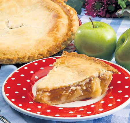 Пирог с яблоком победит осеннюю депрессию