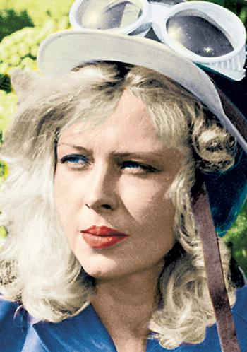 Ирэн АЗЕР называли роковой блондинкой нашего кино
