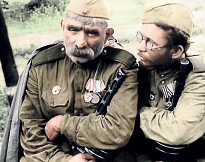 Новый президент Грузии оскорбил ветеранов, геройски защищавших Родину в годы Великой Отечественной войны (кадр из фильма «Отец солдата», 1964 г.)