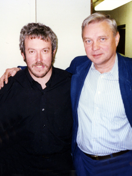 СТЕФАНОВИЧ и МАКАРЕВИЧ за кулисами