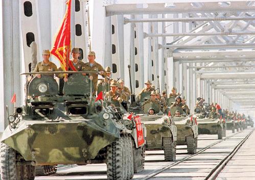 В начале 1989 года советские войска покинули территорию Афганистана