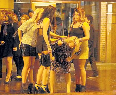 ...каждый вечер они заливают улицы Лондона блевотиной и мочой