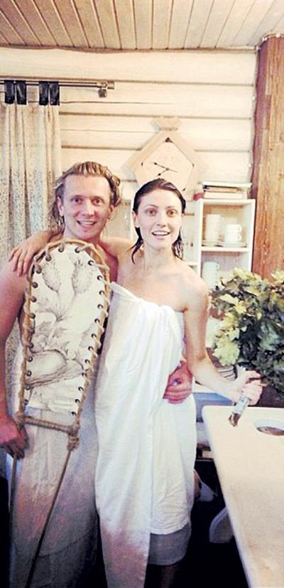 Настя и Глеб напарились от души. Фото: Fb.com