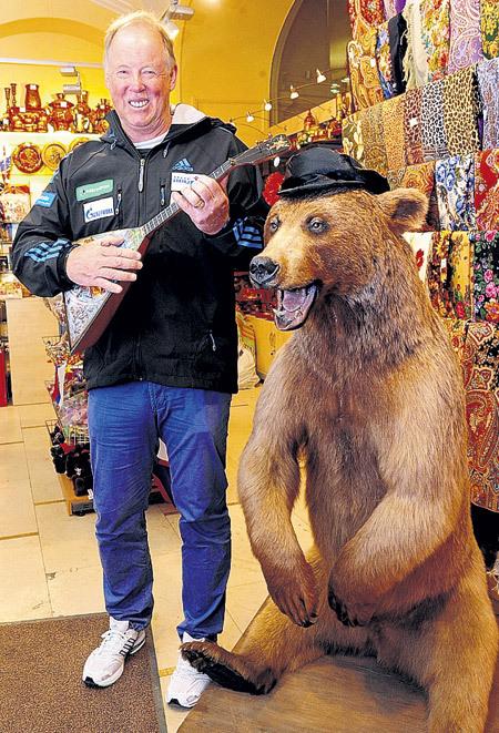 Русский медведь оказался немцу ПИХЛЕРУ не по зубам. Фото Александра БУНДИНА/«Советский спорт»