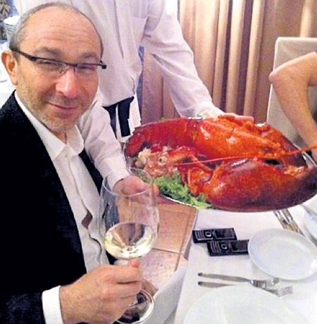 Дольче вита по-украински: вино, омар, два телефона