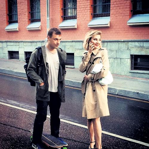Рената ЛИТВИНОВА и Евгений ЦЫГАНОВ. Фото: Instagram.com