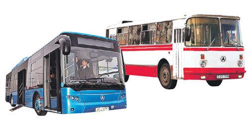 Львовские автобусы уходят в небытие