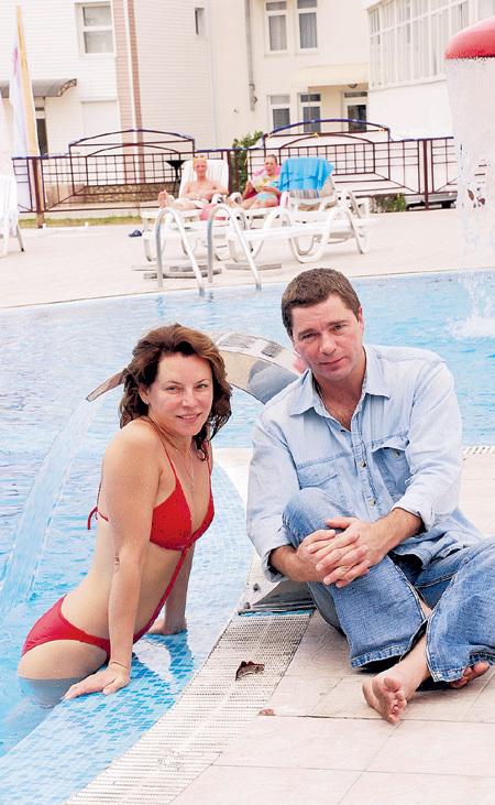 В 2014-м Лариса и Сергей отметили фарфоровую свадьбу - 20 лет брака