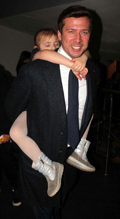 Андрей МЕРЗЛИКИН с дочкой