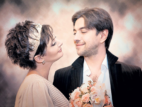 Иван и Вика пообещали друг другу хранить любовь и верность до конца дней. Фото Ирины САВИЦКОЙ/Vk.com