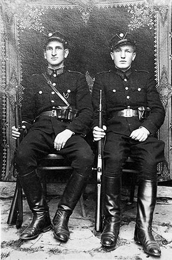 ...украинских полицаев