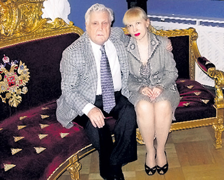 С нынешней музой, 50-летней Инессой ОРЛОВОЙ, Илью Сергеевича связывают не только чувства и работа…