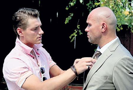 В сериале «Беглецы» ВОРОБЬЁВ и АВЕРИН сыграли родных братьев. Фото: Kino-teatr.ru