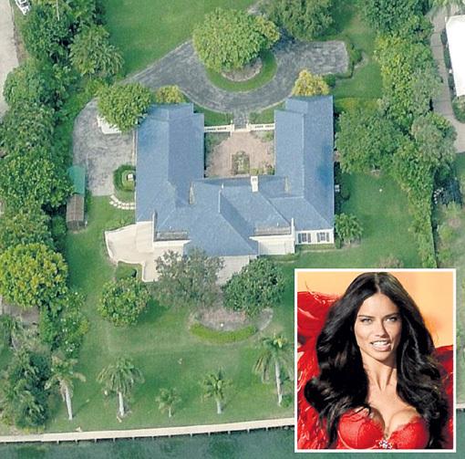 Бразильской супермодели Адриане ЛИМЕ повезло: в 2009 году вместе с тогдашним мужем - баскетболистом Марко ЯРИЧЕМ она купила этот дом всего за $9 млн.