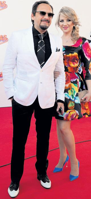 Стас с нынешней женой Инной. Фото Ивана ВИСЛОВА/«Комсомольская правда»