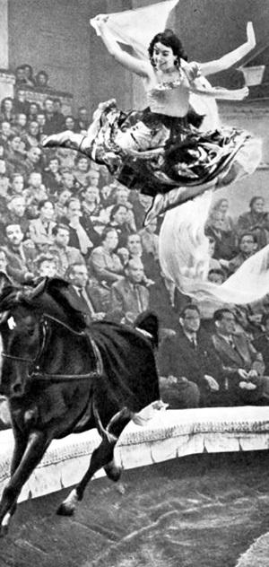 В цирке конные трюки ЛЕОНТЕНКО вызывали восторг зрителей
