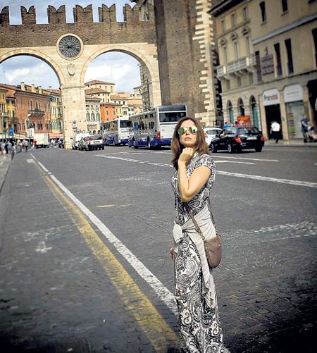 ...восстанавливалась в Вероне - родине Ромео и Джульетты