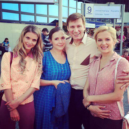 Мария ПОРОШИНА с коллегами (Фото: Vk.com)