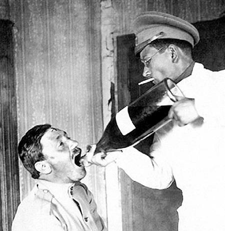 В 1916 году изобрели самый эффективный по тем временам способ лечения алкоголизма - лошадиные дозы