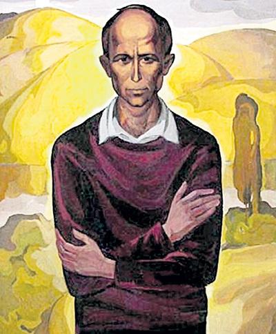 Единственный прижизненный портрет Николая Михайловича написал его друг - вологодский художник Валентин МАЛЫГИН