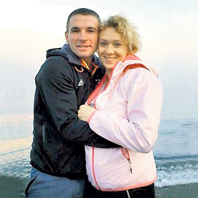 ЗАЙЦЕВА скрывала беременность ото всех, кроме Петра ТРИФОНОВА. Фото с ссайта Skisport.ru