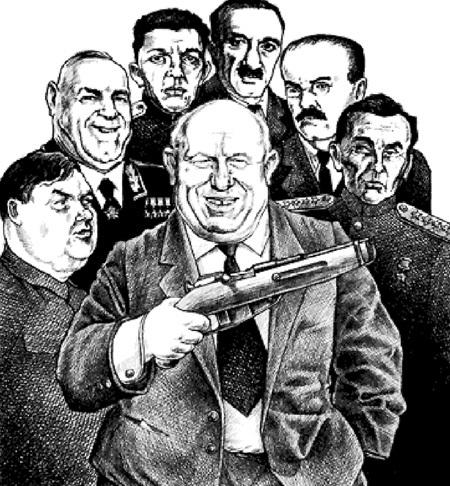 В марте 1953 г. борьбу ХРУЩЁВА с БЕРИЯ поддержали МАЛЕНКОВ, ЖУКОВ, ИГНАТЬЕВ, МИКОЯН, МОЛОТОВ, МОСКАЛЕНКО