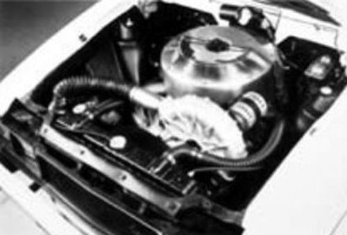 Экспериментальный AMX Spirit с двигателем Стирлинга, 1979 год