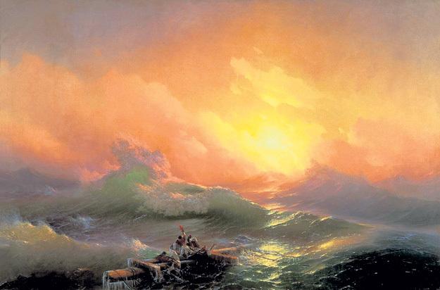 «Девятый вал»(1850 г.) включён в список ста самых знаменитых полотен мира