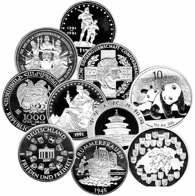 Коллекция ценных монет осталась только на фотографиях