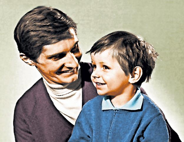 Сын актёра с ранних лет мечтал пойти по стопам папы