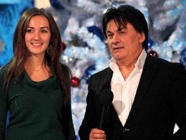 Александр Серов с дочерью Мишель (Фото: © «Экспресс газета»)
