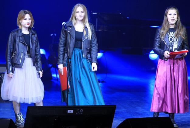 Старшие дочери ОХЛОБЫСТИНА - Анфиса, Евдокия и Варвара